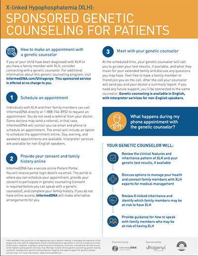 Sponsored Genetic Counseling